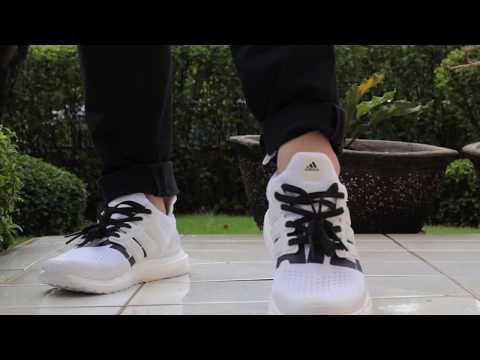 Undefeated x Adidas Ultraboost 4 0 White On Feet e4aa364ec
