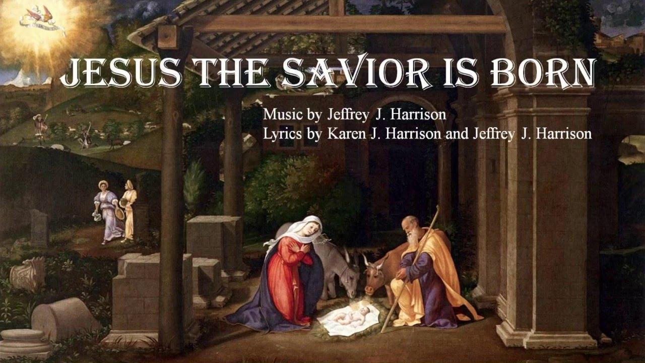 christmas card 2015 jesus the savior is born  youtube