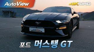 포드 머스탱 5.0 GT 2018 시승기 4K [오토뷰…