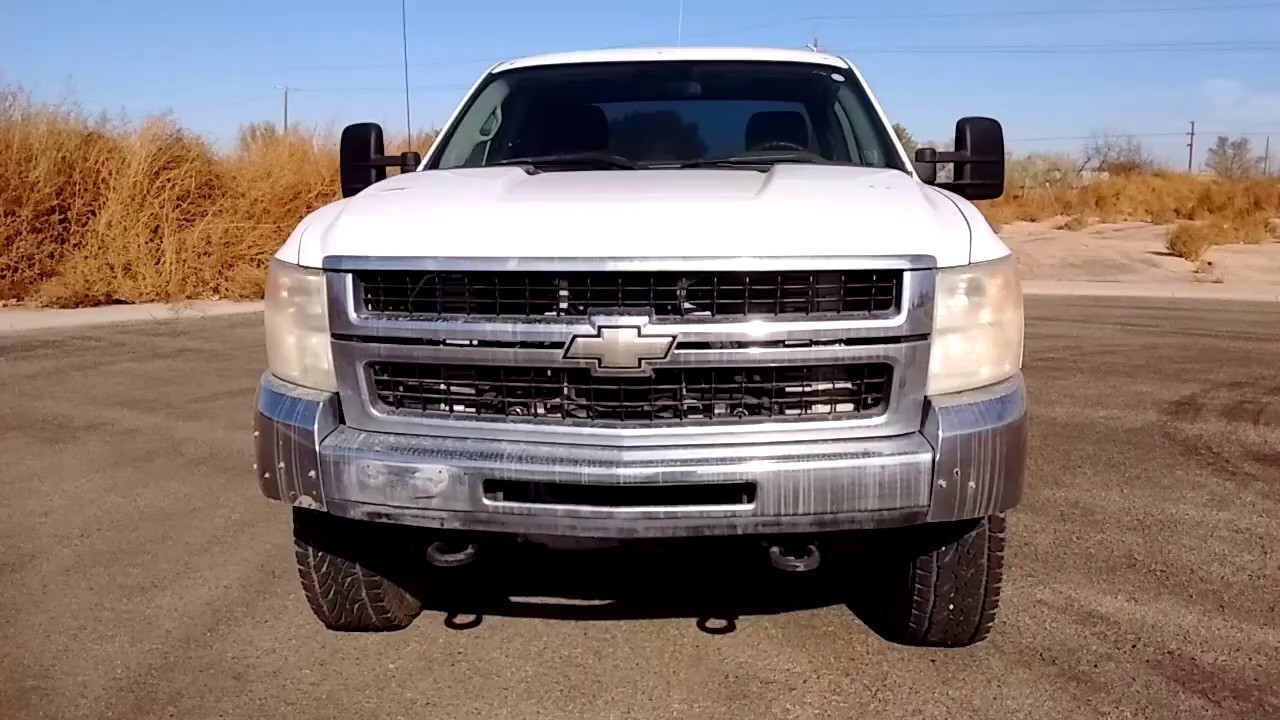 2007 chevy silverado 2500hd new body style duramax as is 0603 youtube. Black Bedroom Furniture Sets. Home Design Ideas