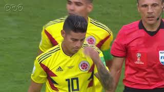 【2分でわかるロシアW杯】コロンビアが決勝トーナメント進出 セネガル×コロンビア
