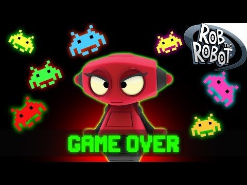GAME OVER | Cartoons For Children | Rob The Robot