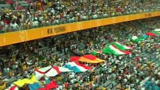 World Cup Final Japan 2002 - fans and closing ceremony
