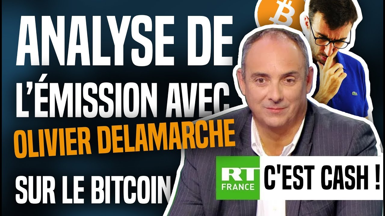 ANALYSE de C'EST CASH avec Olivier Delamarche sur le BITCOIN ! 3