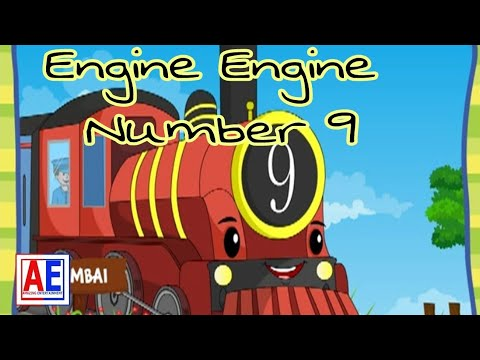 Engine engine number 9 | Popular Nursery Rhymes Song Collection  By Amazing Entertainment