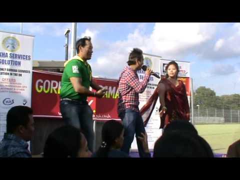 Lok dohori singer Ramji Khand Live pro in Gorkhali Samaj UK summer party