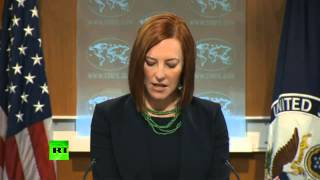 State Department spokesperson Jen Psaki found herself in an awkward...