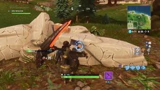 How to hit every blue circle in fortnite battle royale