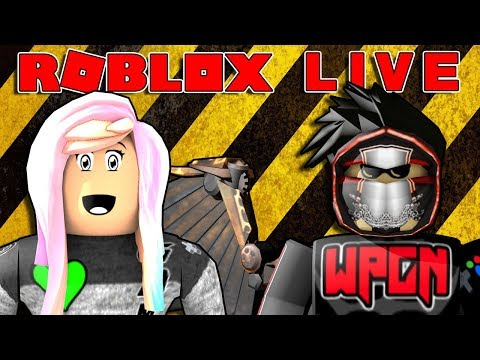 ROBLOX LIVE GAMING