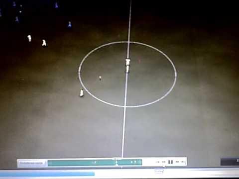 FC Basel vs KKS Lech Poznań Football Manager 2009 3D Live
