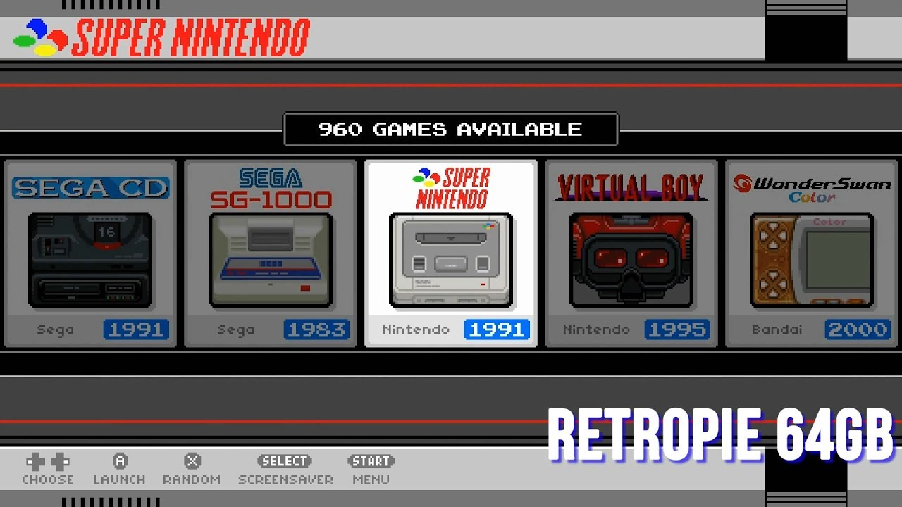 RetroPie 4 4 Darish 64gb Raspberry Pi 3 & B+ - Loaded - Arcade Punks