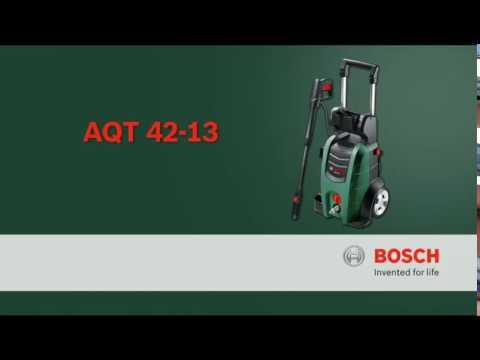 Видео обзор: Мойка высокого давления BOSCH AQT 42-13