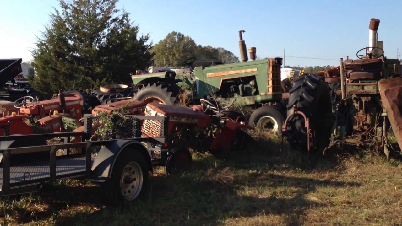 OLD FARM EQUIPMENT / TREASURE HUNTER'S PARADISE