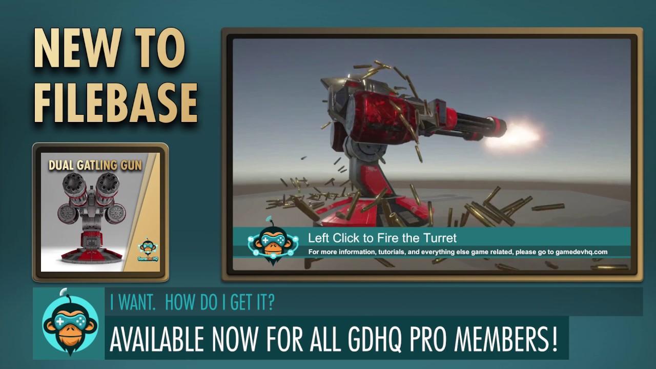 New To Filebase - Dual Gatling Gun