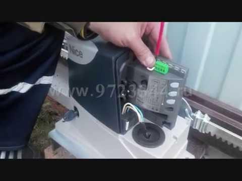 Часть 2 Как настроить электропривод Nice RD400 своими руками