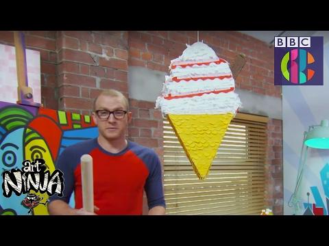 How to make a piñata! | So easy! | CBBC