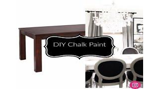 DIY Table Chalk Paint with Magnolia Chalk Paint 🎨 😱