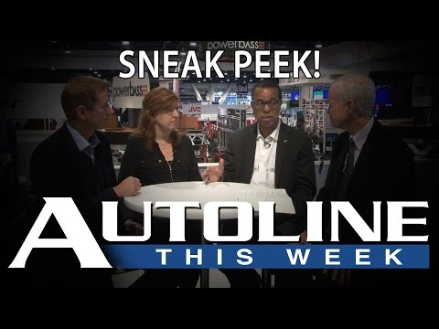 Automakers take root in Silicon Valley - Autoline This Week Promo