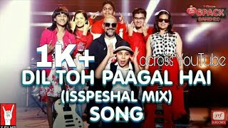 Dil Toh Paagal Hai (Isspeshal Mix) | 6 Pack Band 2.0 feat. Vishal Dadlani | WhatsApp Status