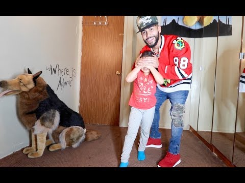 BRINGING HOME A PET DOG PRANK!!! *she ran away*