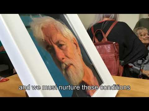 Farewell ceremony from Uri Avnery