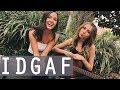 IDGAF by Dua Lipa | acoustic cover by Jada Facer & Tori Keeth