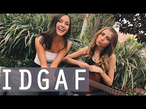 IDGAF by Dua Lipa  acoustic cover by Jada Facer & Tori Keeth