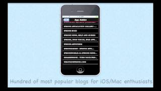 Canadian Newspapers Introduction Video To View On Iphone/ipad