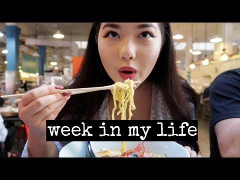 A WEEK IN MY LIFE | Work, Acting, & Getting LIT