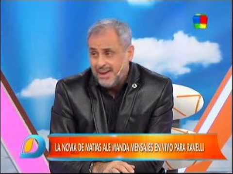 Jorge Rial volvió a apuntarle a Alé: María, ojalá puedas calmarlo