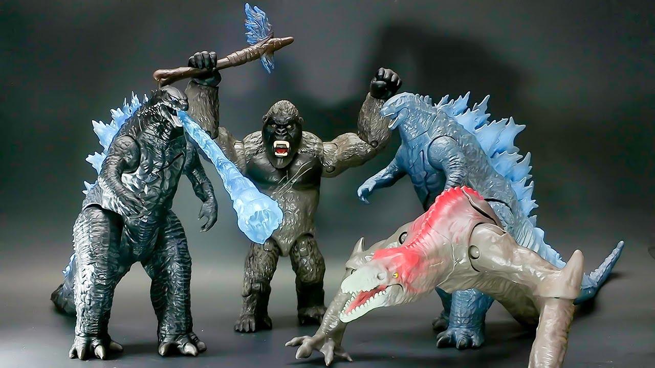All Godzilla Vs Kong Toys Photos Youtube