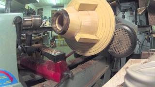 Wood Turning A Segmented Vessel Time-lapse