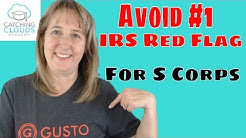 Reasonable Compensation S Corp - #1 IRS Red Flag