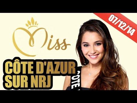 Miss Côte d'Azur en studio sur NRJ !!