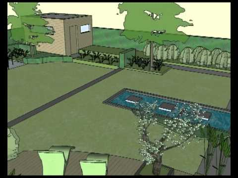 3d ontwerp tuinarchitect ward gielkens 1 youtube for 3d tuinarchitect