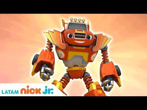 Blaze and the Monster Machines | 'Robot Power' Music Video 💪 | Nick Jr.
