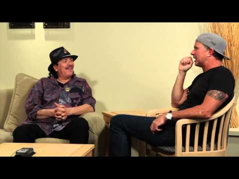 Chad Smith In Conversation With Carlos Santana - Part One