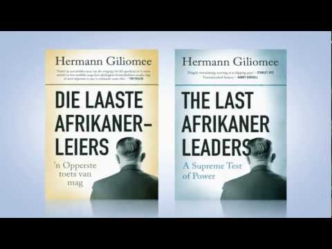 Varsgedruk [30] Die laaste Afrikanerleiers, deur Hermann Giliomee