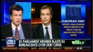 Farage: Unelected puppets of a German-dominated EU (Cavuto, Fox News)