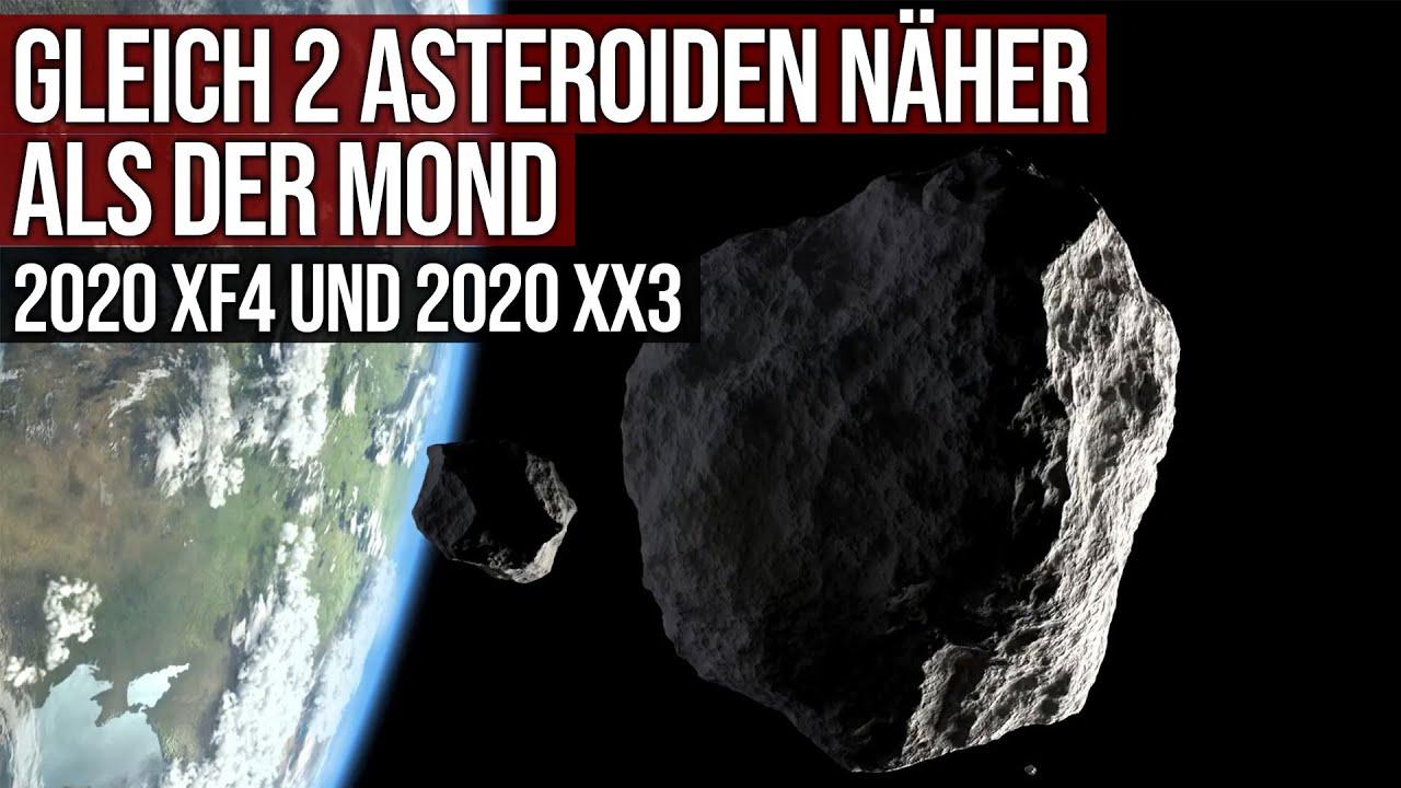 Gleich 2 Asteroiden zwischen Erde und Mond - Einer davon nur 0,15 LD entfernt