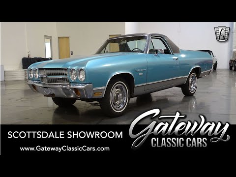 1970 Chevrolet El Camino For Sale- Gateway Classic Cars Scottsdale #622