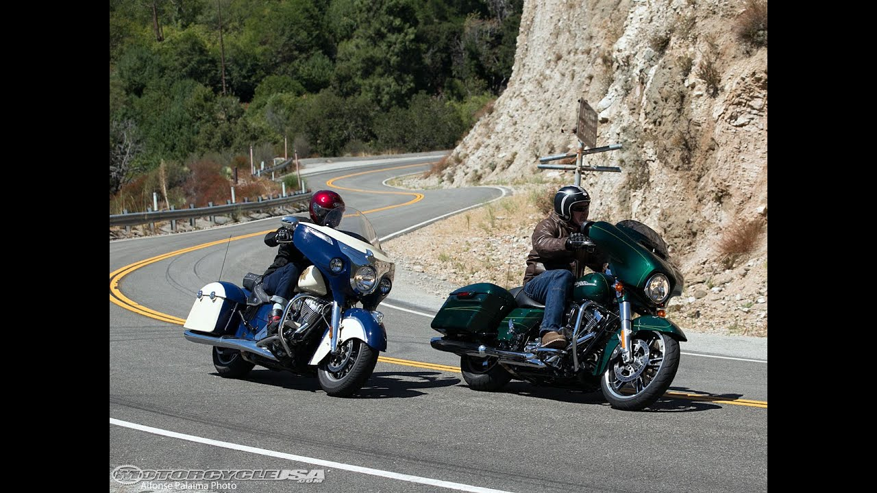 2015 Harley Street Glide Vs Indian Chieftain Part 1