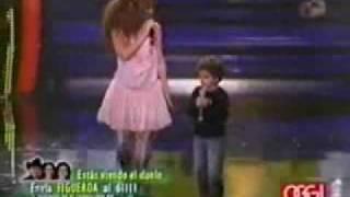 Gloria Trevi Canta con su hijo Angel Gabriel: Celos (en el programa el show de los sueños)