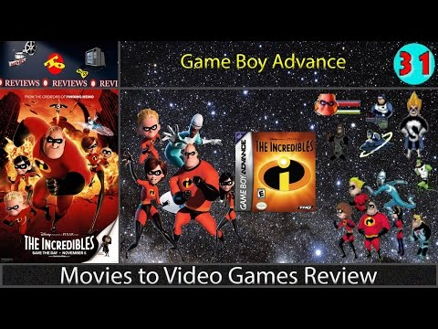 Movies to Video Games Review -- The Incredibles (GBA)