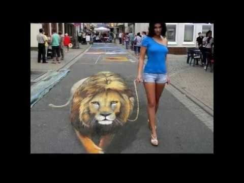 12 Amazing Street 3d painting Must watch!!!
