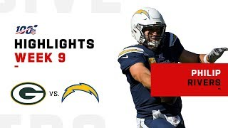 Philip Rivers Highlights vs. Packers | NFL 2019