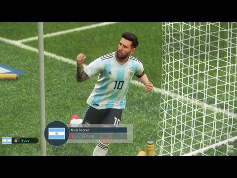 Argentina vs France - PES 2019 PS4 Gameplay