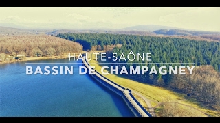 BASSIN DE CHAMPAGNEY / FEVRIER 2017 / HAUTE SAÔNE (70) / DJI PHANTOM 3