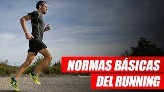 Normas básicas de running