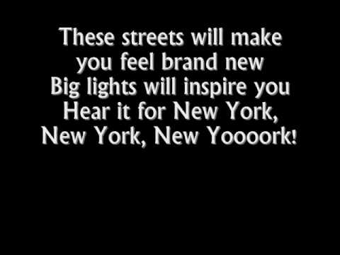 Alicia Keys - New York (Empire state of mind part 2) lyrics
